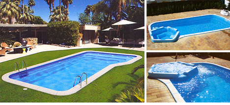 Aqualba for Piscinas de poliester economicas